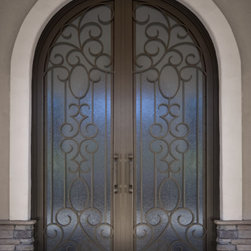 Arched Double Doors -
