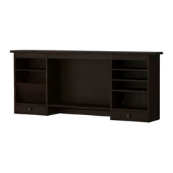 HEMNES Add-on unit - Add-on unit, black-brown