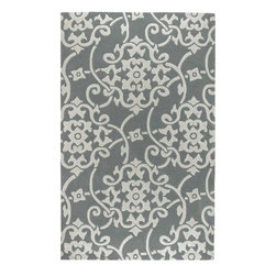 Surya Rugs - Cosmopolitan 8828 Ashby Contemporary Rug - COS8828-23 - Hand-tufted in China of 100% poly-acrylic