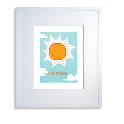 Good Morning Print - Limited edition signed screen print