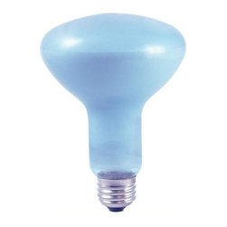 Bulbrite - Full Spectrum Daylight Reflector Light Bulbs - One pack of 12 Bulbs. 120 V E26 base incandescent R30 bulb type. Dimmable. 360 degree beam spread. Healthier, more natural pleasing light and simulating sunlight. Shows colors more accurately, with less glare, reducing eye fatigue. Neodymium infused glass instead of coating, prevents scratching and fading. Wattage: 65 W. Lumens: 420. Average hours: 5000. Color rendering index: 100. Maximum overall length: 5.38 in.Bulbrite's see better, feel better true daylight lamps utilize neodymium to replicate sunlight, letting you enjoy the benefits of natural daylight in your home.