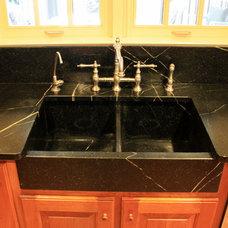 Craftsman Kitchen Sinks by The Stone Studio