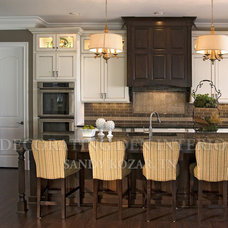 Transitional Kitchen by Decorating Den Interiors- Corporate Headquarters
