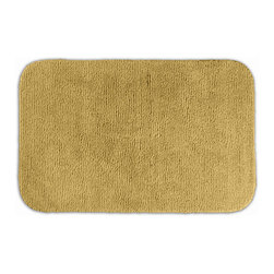None - Cheltenham Gold 30x50 Bath Rug - Add a layer of plush comfort and safety with the inviting Cheltenham bath and spa rug collection. This gold rug is created from durable machine-washable nylon and features non-skid latex backing for safety.