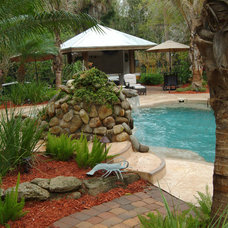 Eclectic Pool by Island Paint and Decorating