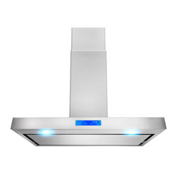 "AKDY - AKDY AK-Z627WPS2 Euro Stainless Steel Wall Mount Range Hood, 36"" Install - Designed of brushed stainless steel, this traditional Italian design chimney hood will be the main focal point for your kitchen. Brilliant LED lighting provides impressive illumination over and around the cook top. A powerful, yet quiet internal blower will ventilate any smoke, grease, and contaminants. Ductless feature is available."