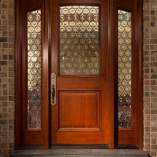 Traditional Front Doors by Magleby Construction