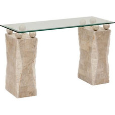 contemporary side tables and accent tables by High Fashion Home