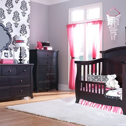 Renaissance Panel Crib converted into Toddler Bed - •This Renaissance crib features a Solid Back Panel, which will later convert into a beautiful headboard for a full-size bed