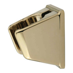 Kingston Brass - Wall Bracket for Personal Hand Shower - The wall bracket features grade ABS construction 2-3/16in. long with a curved open slot to hold either a bathroom hand shower or a kitchen water sprayer.