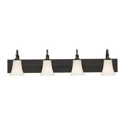 Murray Feiss - 4 Bulb Oil Rubbed Bronze Vanity - - UL Approved.