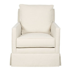Vanguard - Katie Swivel Chair - Trovato Natural fabric
