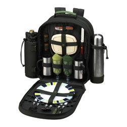 Picnic at Ascot - ECO Picnic Backpack with Coffee for Two - Features: