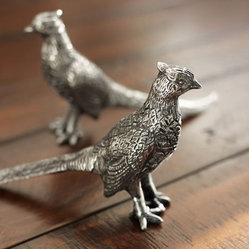 Pheasant Salt & Pepper Shakers
