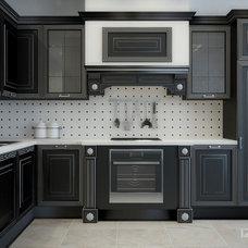 Contemporary Kitchen by IZOOOM, design interior studio