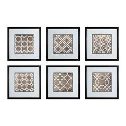 Sterling Industries - Sterling Industries 10060-S6 Symmetry Blueprint - Wall Panel (6)