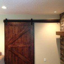 Contemporary Interior Doors by Porter Barn Wood LLC