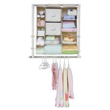 modern kids products Neat Nursery Complete Closet Set