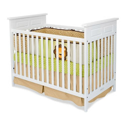 Child Craft - Child Craft Logan 2 in 1 Convertible Crib - White - F14701.46 - Shop for Cribs from Hayneedle.com! Designed to help you through the infant stages to the toddler days the Child Craft Logan Stationary Crib - White is a convertible piece that makes baby's first years safe stylish and smart. Don't spend loads of money when baby outgrows her crib; simply use the included tools to convert her trusted piece into a big-kid bed. Complete with everything you need to make the transition safe and secure. Additional information: Optional toddler guard sold separately Converts easily without sacrificing integrity of unit or pieces; simply remove front side assembly Non-toxic baby-safe finish on all pieces All assembly screws fit into metal bushings so you may safely convert this bed as many times as necessary Crib mattress sold separately Assembly required; includes instructions and all necessary hardware Manufacturer's limited lifetime warranty About Child CraftFounded in 1911 in Salem Indiana Child Craft Industries is a family-owned American company synonymous with quality and value. Manufacturer of cribs and children's furniture the company is very strongly committed to product standards and safety and combines beautiful design and innovative features with sturdy construction and superior craftsmanship. The principles of quality and integrity that served to guide the company for nearly 100 years remains unchanged even today and Child Craft continues to be a respected name in children's furniture.