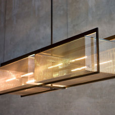 Contemporary Chandeliers by b+g design inc.