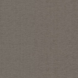 Brewster Home Fashions - Valois Dark Brown Linen Texture Wallpaper Swatch - A chic texture wallpaper simulating a woven fabric on your walls. The rich portobello hue is infused with a gentle gunmetal grey shimmer.