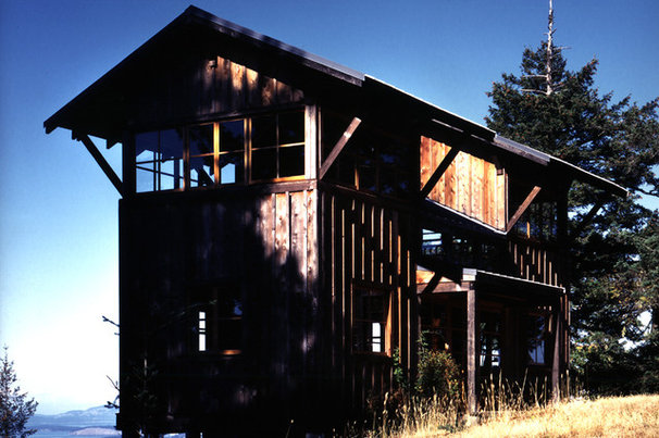 Eclectic Exterior by David Vandervort Architects