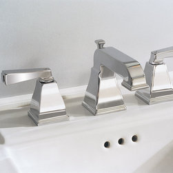 Town Square Faucet - We have used this line on Kohler Memoirs on several occasions, including our farmhouse project, hard to beat styling for the price.
