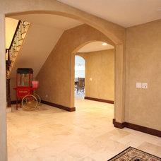 Traditional Basement by Direct Build Home Improvement & More