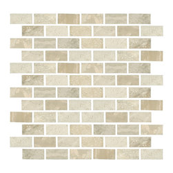 Taishan Ivory Mosaic - I'm a big fan of warm grays and this stone mosaic is no exception - this would be great as a kitchen backsplash mixed with whites or blacks or rich browns for contrast. It's warm without being too caramel.