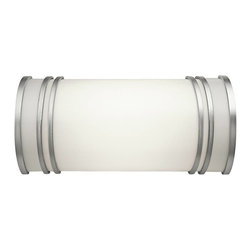 Kichler - Kichler No Family Association Bathroom Lighting Fixture in White - Shown in picture: Kichler Bath Vanity 12in 2Lt Fluoresc in White