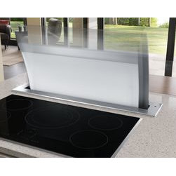 Jenn-Air® Ventilation Options - The sleekly curved Jenn-Air® Accolade™ Downdraft Ventilation System offers unprecedented design and performance. Each model is individually crafted and hand-polished.