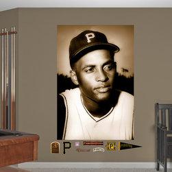Fathead - Fathead Vinyl Wall Graphic - Roberto Clemente - Portrait Mural