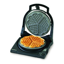 """Chef'sChoice - Chef'sChoice International WafflePro Taste/Texture Select Traditional """"Five-of-H - ChefsChoice® International™ WafflePro® Taste/Texture Select® Traditional """"Five-of-Hearts"""" #840"""