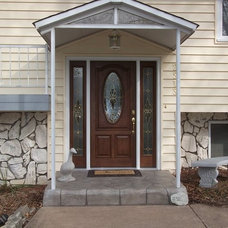 Traditional Front Doors by SUBURBAN CONSTRUCTION