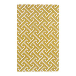 Kaleen - Kaleen Revolution Collection REV04-28 2' x 3' Yellow - The color Revolution is here! Trendy patterns with a fashion forward twist of the hottest color combinations in a rug collection today. Transform a room with the complete color makeover you were hoping for and leaving your friends jealous at the same time! Each rug is hand-tufted and hand-carved for added texture in India, with a 100% soft luxurious wool.