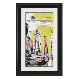 Paragon - New York II - Framed Art - Each product is custom made upon order so there might be small variations from the picture displayed. No two pieces are exactly alike.