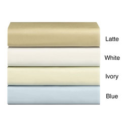 None - 500 Thread Count Sheet Sets and Pillowcase Separates - Treat yourself to a well-deserved night of rest with these 500-thread-count sheets. Constructed of 100 percent cotton and featuring a sateen finish,these solid color sheets offer easy care and will add a hint of luxury to your sleep experience.