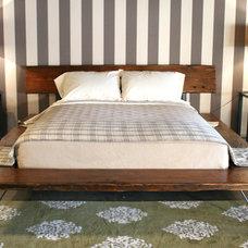 Modern Platform Beds by CROFT HOUSE