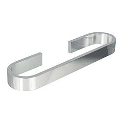 "KohINoor - Materia Towel Bar in Shiny Aluminum 23.6"" - Features:"