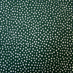 "SheetWorld - SheetWorld Fitted Square Playard Sheet 37.5 x 37.5 (Fits Joovy) - This luxurious 100% cotton ""woven"" square playard sheet features a hunter green fun dots print. Our sheets are made of the highest quality fabric that's measured at a 280 tc. That means these sheets are soft and durable. Sheets are made with deep pockets and are elasticized around the entire edge which prevents it from slipping off the mattress, thereby keeping your baby safe. These sheets are so durable that they will last all through your baby's growing years. We're called sheetworld because we produce the highest grade sheets on the market today. Size: 37 1/2 x 37 1/2."