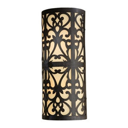 The Great Outdoors - The Great Outdoors 1492 2 Light Energy Star ADA Compliant Outdoor Wall Sconce fr - Two Light Outdoor Wall Sconce from the Nanti CollectionFeatures: