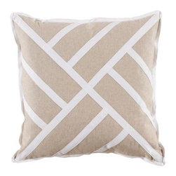 Chinese Chippendale Pillow - Heavy Basket - Clayton Gray Home -