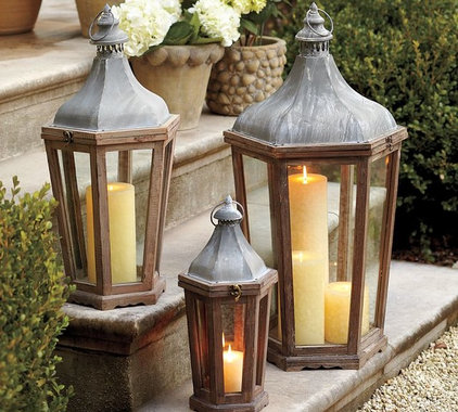 traditional outdoor lighting by Pottery Barn