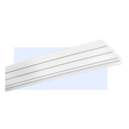 "Inviting Home - New-York Art Deco Crown Molding - Art Deco crown molding 2-3/8""H x 10""P x 10-1/4""F x 6'6""L molding sold in length of 6'6"" (4 piece minimum required) crown molding specifications: - outstanding quality crown molding made from high density polyurethane environmentally friendly material is hypoallergenic and fully recyclable no CFC no PVC no formaldehyde; - front surface of this molding has extra durable and smooth surface; - crown molding is pre-primed with water-based white paint; - lightweight durable and easy to install using common woodworking tools; - metal dies were used for consistent quality and perfect part to part match for hassle free installation; - this crown molding has sharp deep and highly defined design; - matching flexible molding available; - crown molding can be finished with any quality paints; - there is a four piece minimum requirement for this molding purchase; Polyurethane is a high density material--it's extremely lightweight and easy to install (and comes primed and ready to paint). It is a green material meaning it's CFC and formaldehyde free. It is also moisture resistant--so it won't shrink flex or mold. What's also great about Polyurethane is that it's completely customizable and can be treated as wood (you can saw it nail it screw it and sand it). In addition our polyurethane material come primed and ready to paint."