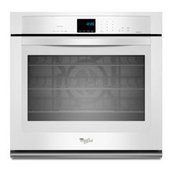 "Whirlpool - WOS92EC7AW 27"" Single Electric Wall Oven With 4.3 Cu. Ft. TimeSavor Ultra True C - The Whirlpool WOS92EC7A features an amazing 43 cu ft capacity This Single Wall Oven with True Convection Cooking will satisfy your every need"