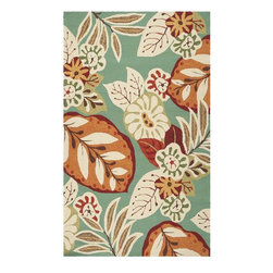 Surya - Surya Storm Rug X-3533-4177MOS - The bold botanical design of this rug is sure to be the focal piece in any room. In tones of teal, parchment, orange, dark khaki green, cinnamon spice and chocolate brown, it will lend visual interest and comfort to your decor.