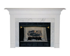 Agee Woodworks - Agee Woodworks Cobblestone Wood Fireplace Mantel Surround - COBBLESTONE4840BIRCH - Shop for Mantels and Trim from Hayneedle.com! About This Fireplace MantelMarked by its flat-front pillars and a full-width cornice the Agee Woodworks Caprese Wood Fireplace Mantel Surround is unique in its company. Assembly is a snap since most of it is complete out of the box. The final choices are left up to you this mantel ships unfinished ready to paint or stain and install. Choose between birch or oak solids in a wide selection of custom-cut sizes.About Agee Woodworks Inc.Ashland Va.'s Agee Woodworks Inc. focuses on three key manufacturing aspects: service quality and customization. Each handcrafted Agee fireplace mantel is made to order by one specific craftsman - and with a variety of value and custom options there's one for every budget. The highest-quality materials used - and individualized construction process during which a mantel's legs header and shelf are applied to a specified-size frame - ensure long-lasting one-of-a-kind products. Mantels can be primed painted or stained before delivery or can be shipped unfinished so customers can finish them at home.