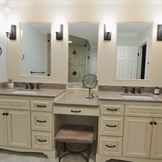 Bathroom Countertops by CR Home Design K&B (Construction Resources)