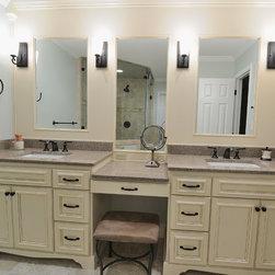 Cambria Bathroom - Cambria Carlisle Grey Quartz Vanity