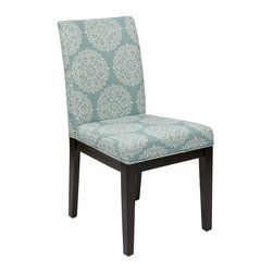 Ave Six - Parsons Chair in Gabrielle Sky - Attractive and comfortable